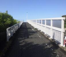 新藤沢(山崎)跨線橋改修工事